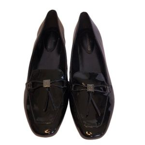 🆕NWOT Bandolino Black Patent Leather Loafers